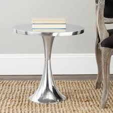 incredible round silver end table best 20 silver side table ideas on metal side table