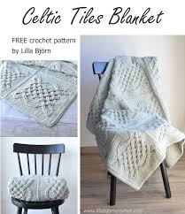 Crochet Patterns Blanket Cool Celtic Tiles Blanket FREE Overlay Crochet Pattern LillaBjörn's