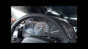 00 02 Saturn S Series Instrument Cluster Removal