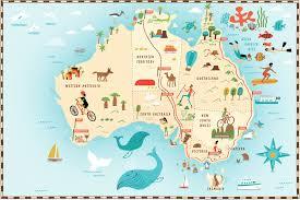 download australia map travel  major tourist attractions maps