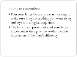 How To Start A Business Letter Business Letter Writing Ppt Video Online Download