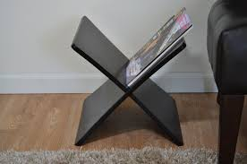 contemporary magazine rack  woodwaves