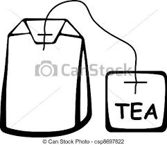 tea bag drawing. Wonderful Drawing Vector Tea Bag Black Pictogram To Drawing P