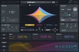Designer Sound Fx 500 Uvi Whoosh Fx Whoosh Motion Designer Plug In Sweetwater