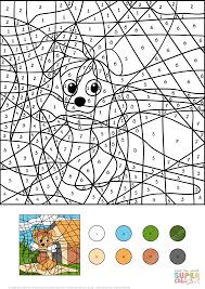 Funny Octopus Color Byber Free Printable Coloring Pages Online