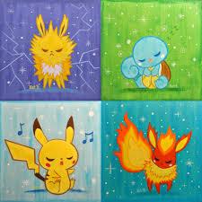 Pokemon Paintings By Kat Brunnegraff