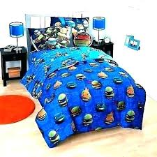 Teenage Mutant Ninja Turtle Bedding Bedroom Set Twin Bed Turtles ...
