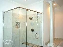 fascinating of frameless shower door aosc bathroom design