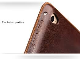 ipad mini 4 leather stand case with hand strap 3