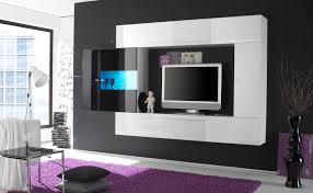 Small Picture Furniture Stunningly Impressive TV Wall Cabinet Designs High