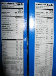 aldi frosted flakes nutritional information