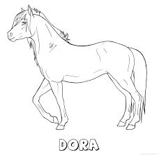 Dora Naam Kleurplaten