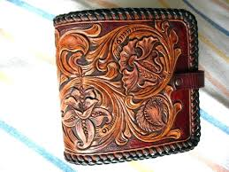 hand tooled western leather wallets custom made as fl carved medium billfold wallet kids room storage ideas