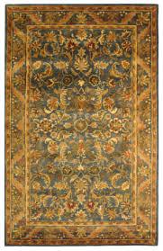 safavieh antiquities at52c blue gold area rug