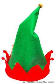 Elf Hat Pattern Adorable Christmas Elf Hat Craft Kids' Crafts FirstPalette
