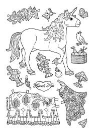 Small Picture Paper Dolls Coloring Pages fablesfromthefriendscom