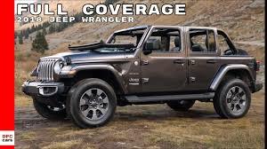2018 jeep wrangler sahara rubicon test drive interior full coverage