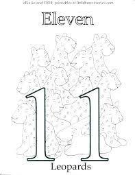 1 coloring page number 2 sheets for toddlers children color pages preschoolers