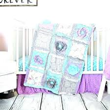 purple and mint crib bedding green baby sets nursery purple and mint crib bedding