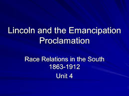 lincoln and the emancipation proclamation presentation history watch all slides