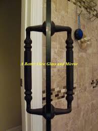 luxury shower door hardware oil rubbed bronze