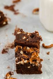 pretzel brownies without cocoa powder