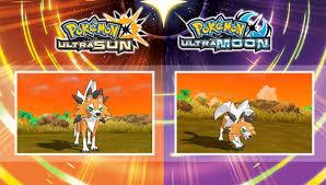 pokemon ultra sun moon all new
