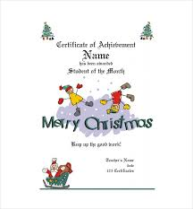 20 Christmas Gift Certificate Templates Word Pdf Psd Free