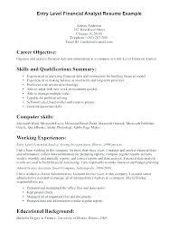 objective of a resume. Finance Internship Resume Objective Finance Internship Resume Sample