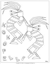 Native American Girl Coloring Page At Getdrawingscom Free For
