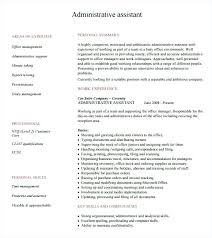 Examples Of Administrative Resumes Stunning Best Administrative Assistant Resume Kappalab