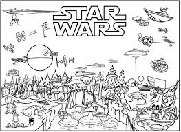 Small Picture Ignite Your Creativity with Star Wars Coloring Pages 100 Free