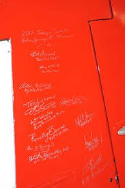 tuskegee airmen a tail signed by surviving tuskegee airmen located at the palm springs air museum palm springs california