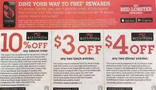 Red Lobster Coupons Ebay