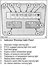 ford 555c warning lights the classic machinery network