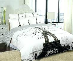 paris bed sets black and white bedding twin bedding set tower bedding sets black and white