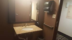 comfort inn fort wayne womanu0027s public bathroom public bathroom sink25 sink