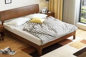 Wooden Bed Simple Bedroom Double Bed Designs In Wood - Buy Double Bed  Designs In Wood Product on Alibaba.com