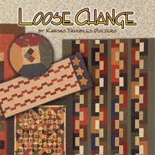 Kansas Troubles Quilters: Need Loose Change? & Inspired by our popular Five & Dime quilt, many of the projects utilize the  Five & Dime or Spare Change mini ruler for centering and cutting the blocks. Adamdwight.com
