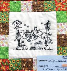"""Towne Squares Quilt Club has 36th annual Quilt Show - Daily Advocate & The Towne Squares Quilt Club, of Greenville, hosted its 36th Annual Quilt  Show over the weekend, featuring """"Autumn in Grandma's Backyard"""" by quilter  Betty ... Adamdwight.com"""