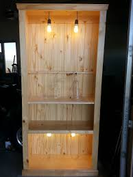 Industrial Bookcase Diy Build An Industrial Traditional Rustic Bookcase Part 1