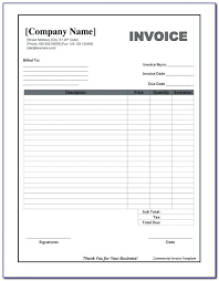 Free Blank Commercial Invoice Forms Form Resume Examples Qpm0ezo2za