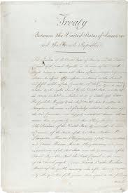 marbury v madison it s role in american history and it s long  the original treaty of the louisiana purchase