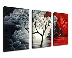 extra large cloud tree abstract painting canvas prints wall art decor framed 30x60 inch 3 on amazon extra large wall art with amazon extra large cloud tree abstract painting canvas prints