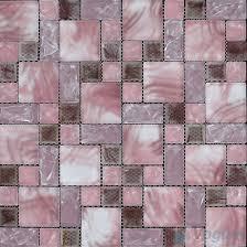 snow beauty pistachio linear clear crystal glass mosaic