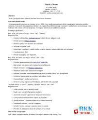 bank teller resume objectives writing resume sample sample bank bank cashier resume sample cashier resume no experience easy bank teller resume sample entry level