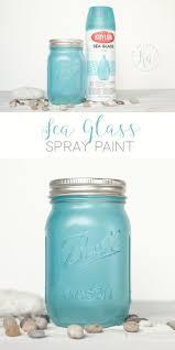 Design Master Tint It Spray Paint Krylon Aqua Sea Glass Spray Paint Diy Spray Paint Mason
