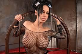 FREE black hair fingering pov piercing tattoo fishnet pornstar big.