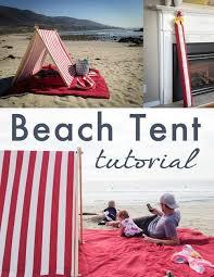 beach tent diy smaller