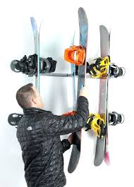 snowboard rack for wall snow snowboard wall mount no s